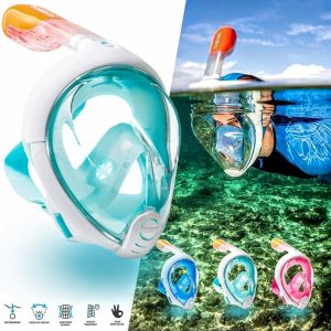 full face snorkel mask rental kihei