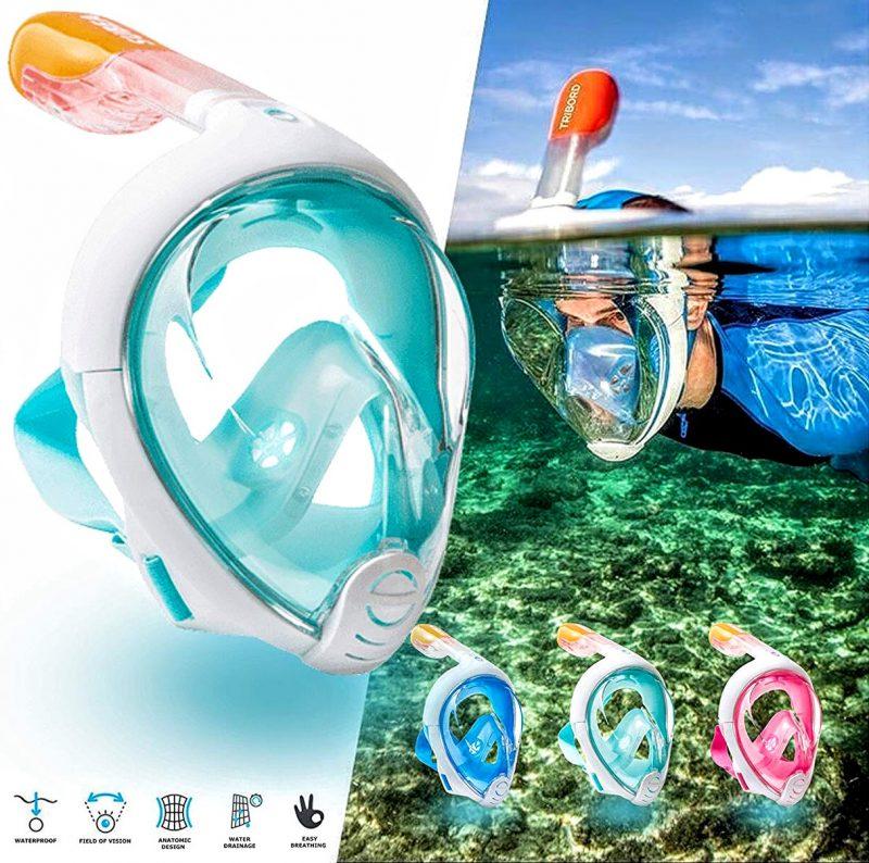 Best Full Face Snorkel Mask 2020 Full Face Snorkel Mask Rental Kihei, Wailea | 25% Off | Auntie Snorkel