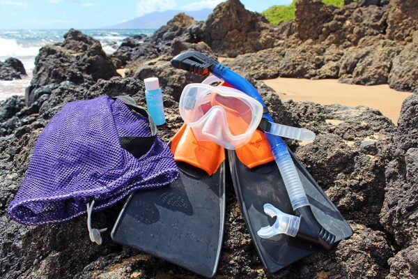 kihei snorkel gear rental