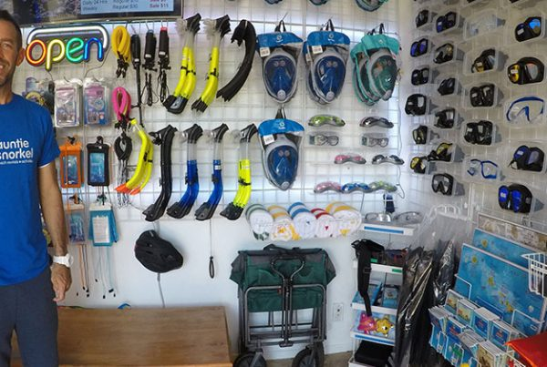 Beach gear rental shop in kihei