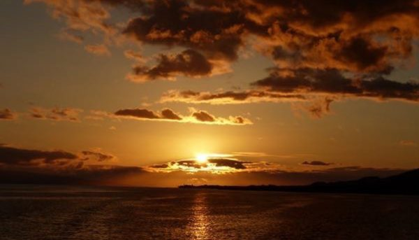 calypso sunset dinner cruise sunset view
