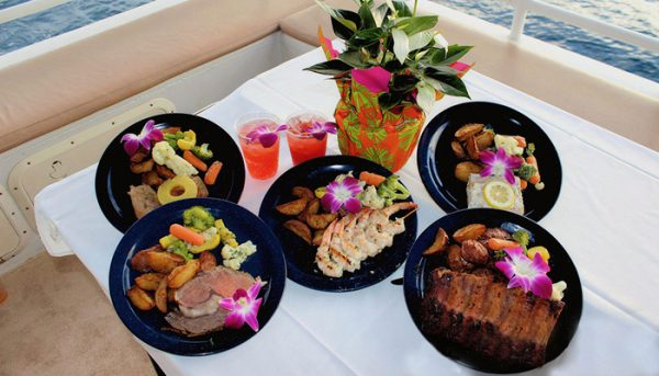 calypso sunset dinner cruise food choices
