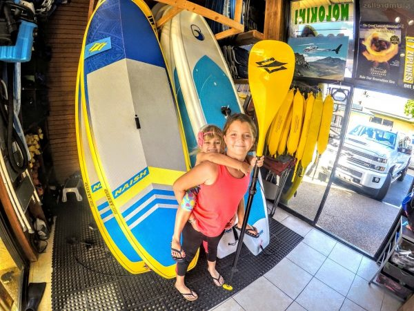 stand up paddle board rental kihei
