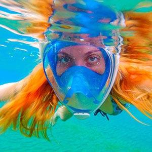 Snorkel gear rental