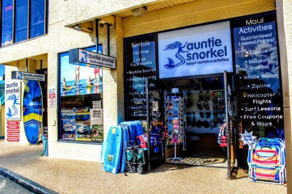 maui snorkel rental shop