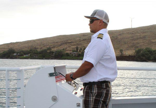 calypso sunset dinner cruise captain
