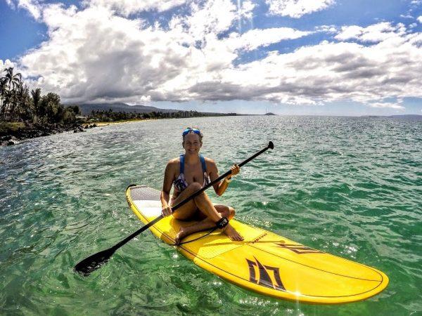 paddleboard practice