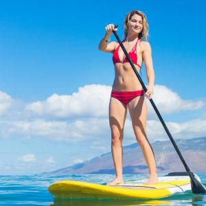 stand up paddle boarder kihei