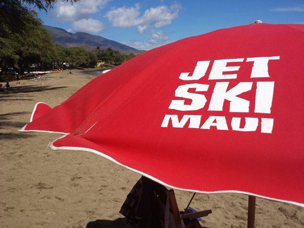 maui-jet-ski-rental-umbrella