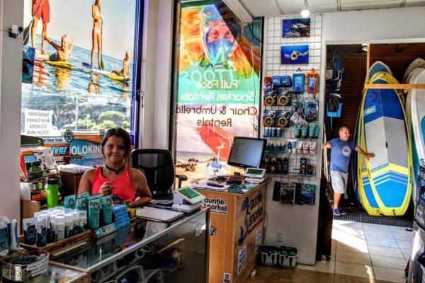 kihei snorkel rental shop
